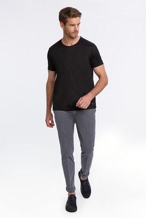 Hemington Siyah Bisiklet Yaka Basic T-shirt 1