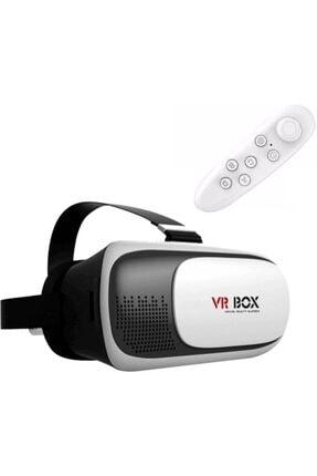 Techmaster Vr Box Sanal Gerçeklik Gözlüğü + Bt Kumanda + Kulaklık 2