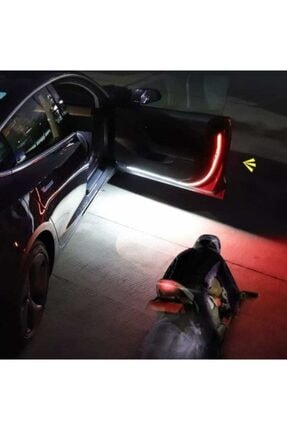 rennway Led Araba Işıkları Araba Kapı Açma Uyarı Işığı 2 Adet Kapı Ikaz Ledi 3