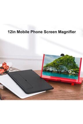 Kara ticaret Telefon Ekran Büyüteci Görüntü Büyütme Geniş Ekran Video Ekran Büyütücü 3d Büyüteç 3