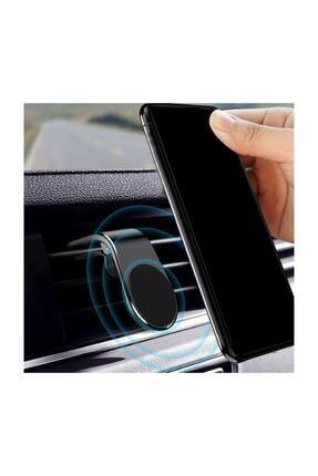 Etech Polygold Mıknatıslı Siyah Araç Içi Telefon Tutucu 3