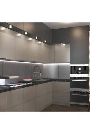 ACIKO Mutfak Dolabı Için 3 Metre Beyaz 3 Çipli Şerit Led Anahtarlı Set 1