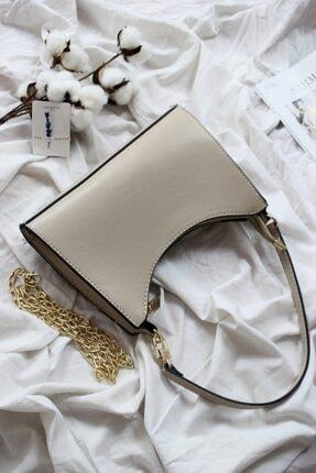 Kadın Elisa Bej Baget Çanta Elisa2