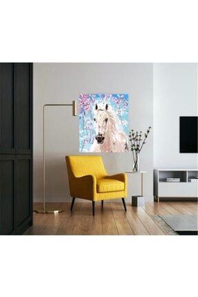 PlusHobby Sb17/renkli At - Sayılarla Boyama Seti 40x50cm Tuval 4