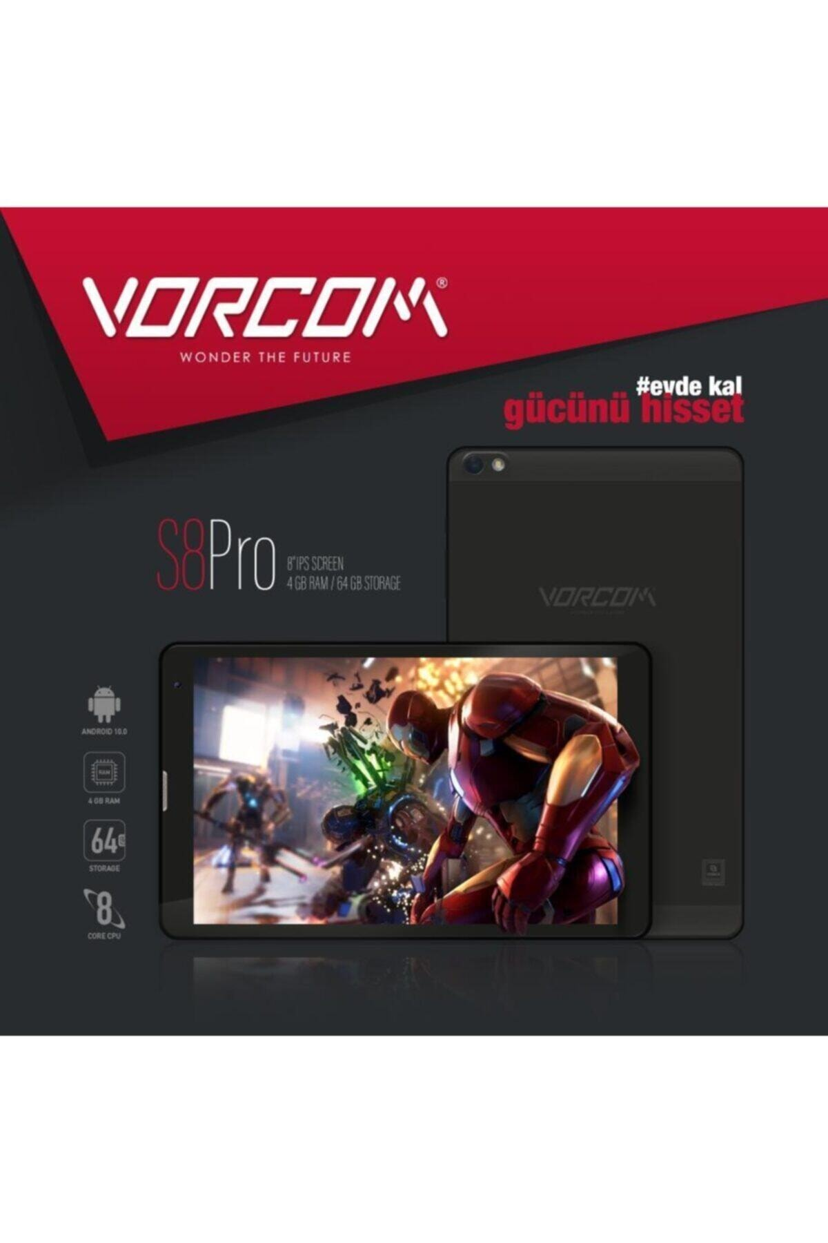 S8 Pro Tablet 4 Gb Ram 64 Gb Hafıza Ips Ekran Eba Zoom Pubg Destekli