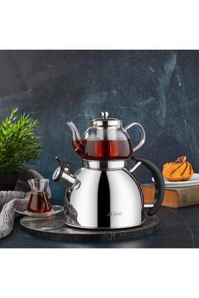 Aryıldız Kettle Mania Düdüklü Çaydanlık - Inox 0