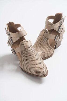 LuviShoes 2030 Ten Kadın Yazlık Bot 1