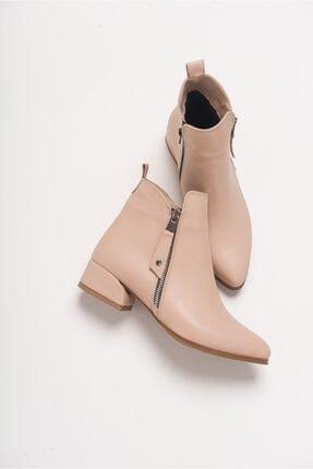 LuviShoes 13 Ten Cilt Kadın Bot 0