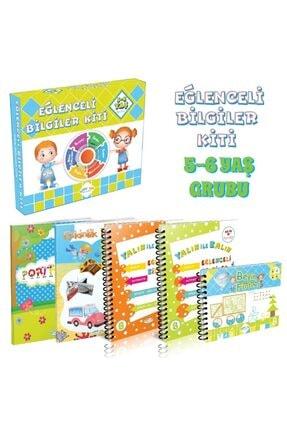 Doku AES Yayınları Eğlenceli Bilgiler Kiti 5-6 Yaş 0