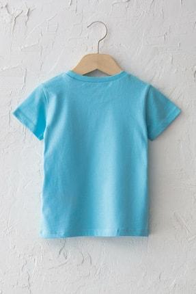 LC Waikiki Erkek Bebek Mavi G0P T-Shirt 1