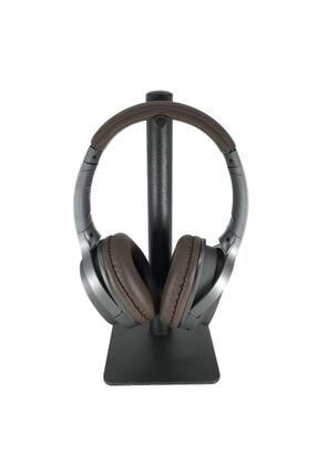 LESGO Siyah Masaüstü Metal Tekli Kulaklık Standı Oyuncu Kulaklık Standı 3
