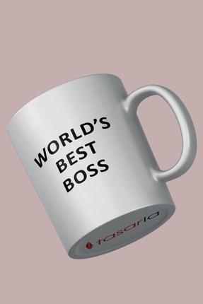 tasarla The Office - Worlds Best Boss Kupa Bardak 0