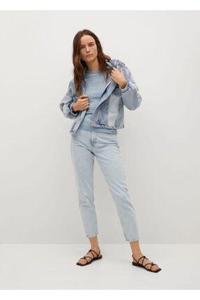 Mango Kadın Mavi Bluz 1