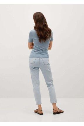 Mango Kadın Mavi Bluz 3