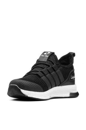 MAGIC SHOES Unisex Çocuk Siyah Beyaz Spor Ayakkabı 1