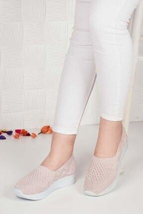 Weynes Kadın Krem Triko Günlük Ayakkabı Ba20500 0
