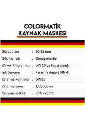 Mager Maxstar Pro By350f Colormatik - Potanslı Kolormatik Kaynak Maskesi - Yedek Camlı 2