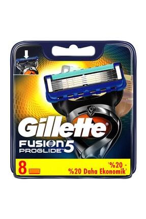 Gillette Fusion Proglide Yedek Tıraş Bıçağı 8'li - Karton Paket 1