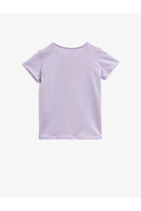 Koton Kız Çocuk Pembe Tshirt 1