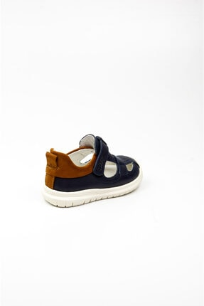 Vicco Erkek Lacivert Deri Bebek Ayakkabı 3