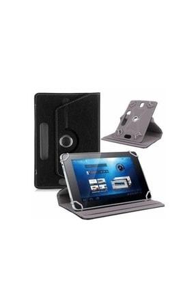 """Mobilite Hometech Alfa 7lm 7"""" Uyumlu 360°dönebilen Kapaklı Standlı Universal Tablet Kılıfı 1"""