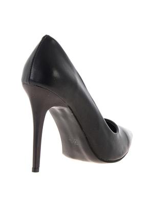 Bambi Siyah Kadın Klasik Topuklu Ayakkabı K01596177009 3