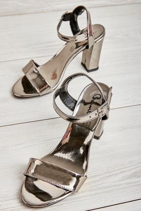 Bambi Kurşun Kadın Klasik Topuklu Ayakkabı K05503740039 0