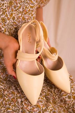 Soho Exclusive Sarı Kadın Sandalet 15933 1