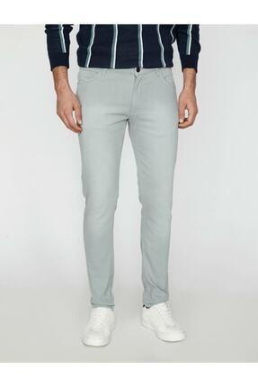 Koton Erkek Yeşil Dar Kesim Pantolon 1