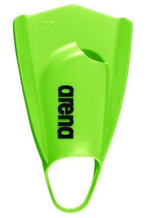 Arena Unisex Yeşil Power Fın Pro Yüzme Ayak Paleti 1