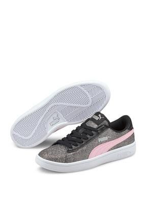 Puma Kadın Sneaker - Smash v2 Glitz Glam Jr - 36737722 0