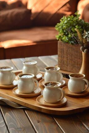 Bambum Torby 6 Kişilik Kahve Fincan Takımı 1