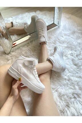 ELSESHOES Kadın Beyaz Spor Ayakkabı 2