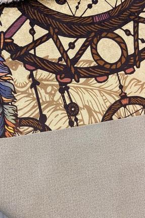 Akyaka Life Düş Kapanı Etnik Desen Çok Renkli Dijital Baskı Halı 1