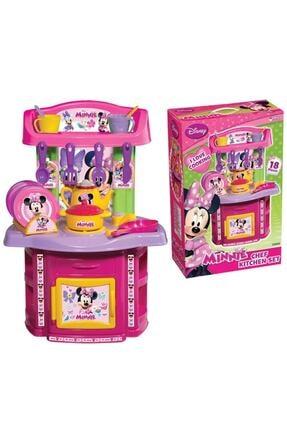 Dede Oyuncak Minnie Mouse Şef Mutfak Seti 0