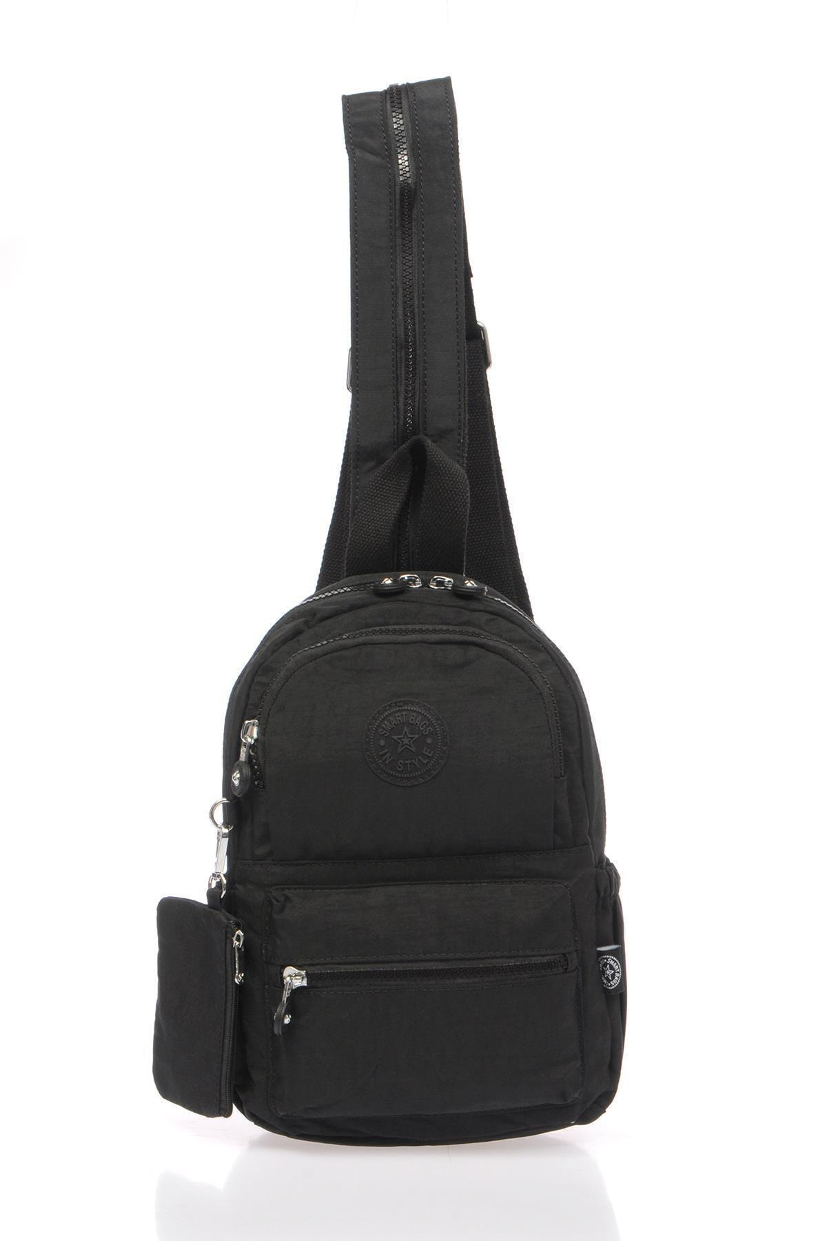 Smart Bags Smb1030-0001 Siyah Kadın Küçük Sırt Çantası