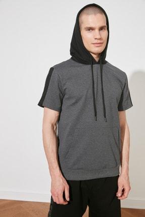 Picture of Antrasit Erkek Regular Fit Sweatshirt TMNSS21SW0309