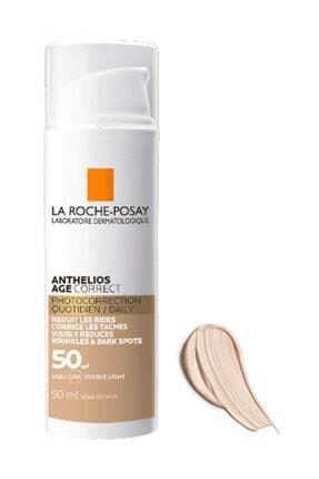 La Roche Posay Anthelios Age Correct Daily Cc Cream Spf50 Tinted 50 ml Leke Ve Kırışıklık Karşıtı 1