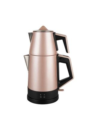 Emsan Bella Gusto Elektrikli Çaycı Golden Pink 1
