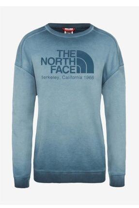 The North Face Washed Kadın Uzun Kollu Tişört Mavi 0