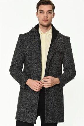 Erkek Antrasit  Palto resmi