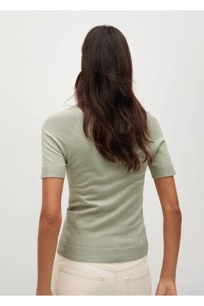 Mango Kadın Yeşil Bluz -- 3