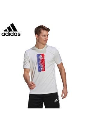 adidas M FTO ICN T Beyaz Erkek T-Shirt 101079871 0