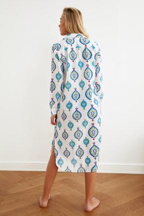 TRENDYOLMİLLA Etnik Desenli Vual Kimono&Kaftan TBESS21KM0010 3