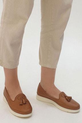 Marjin Sore Kadın Hakiki Deri Comfort Ayakkabıtaba 1