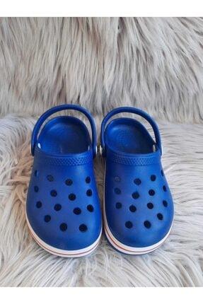 Akınalbella Çocuk Mavi Renk Crocs Terlik 2