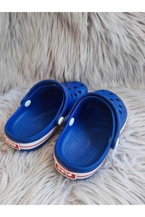 Akınalbella Çocuk Mavi Renk Crocs Terlik 3
