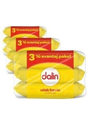 Dalin Islak Mendil 3 Al 2 Öde X 3 Adet (9 Paket) 0