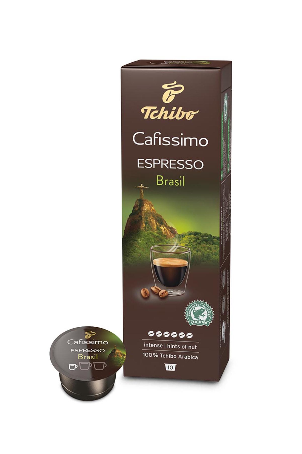 Tchibo No Color Espresso Brasil 10'Lu Kapsül Kahve 0