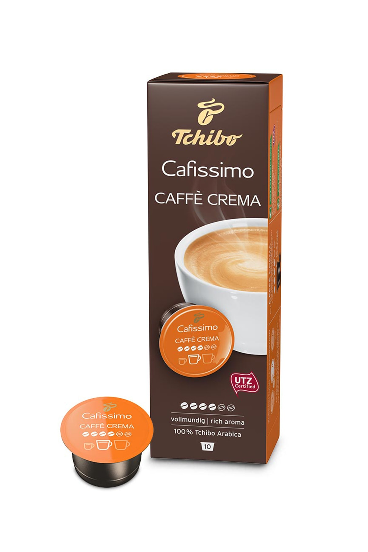 Tchibo No Color Caffè Crema Rich Aroma 10'Lu Tablet Kahve 0